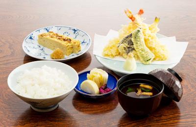 天ぷらセット写真
