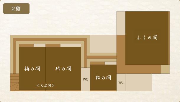 二階 フロアマップ