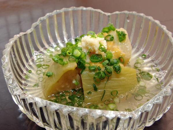 賀茂茄子の田楽(京野菜)